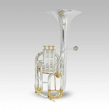 Custom Schiller Elite Edinburg Alto Horn Silver Plated & Gold