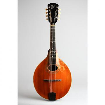 Custom Gibson  Style A-1 Carved Top Mandolin (1914), ser. #26639, black hard shell case.