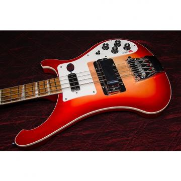 Custom Rickenbacker 4003 Bass  Fireglo 032209