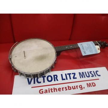Custom Washburn style E tenor banjo 1900's