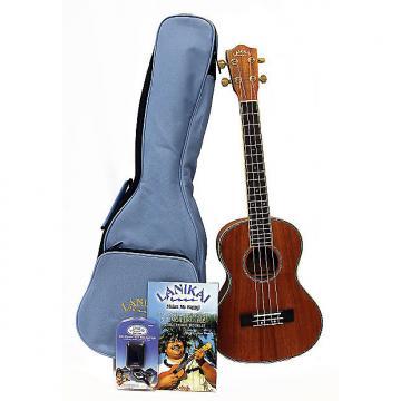 Custom Special Buy - Lanikai LKP-T Koa Tenor Uke - with Bag, Clip On Tuner & Book