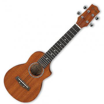 Custom Ibanez UEWS5 All Mahogany Soprano Ukulele - Natural