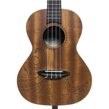 Custom Luna Tattoo Tenor Mahogany Ukulele