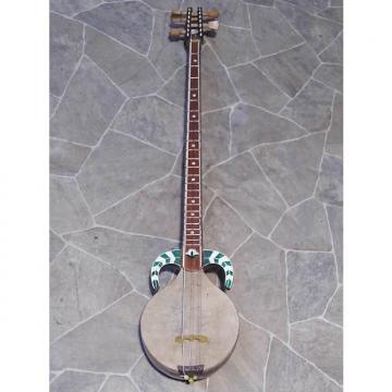 Custom RARITY ! vintage Kashgar RABAB trad. Plucked string instrument 5string Uyghurs rebab rawap