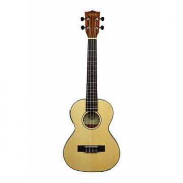 Custom Kala KA-SSTU-TE Thinline Travel  Tenor Ukulele  With B-Band EQ