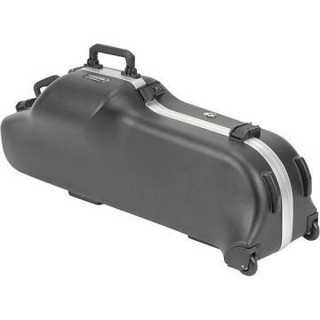 Custom SKB 445W Baritone Saxophone Hard-Shell Case