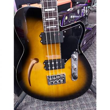 Custom Reverend Dub King Bass Tobacco Burst