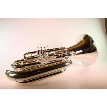 Custom Jupiter Model 582S Four Valve 4/4 BBb Tuba SILVER DISPLAY MODEL