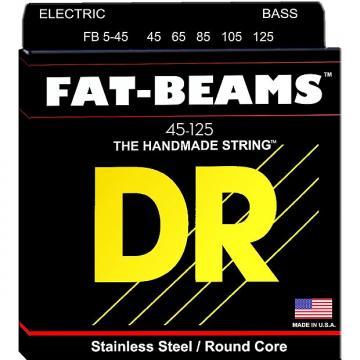 Custom DR Strings FB5-45 Fat-Beams Bass 5 Strings Medium 45-125