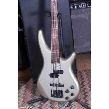 Custom Ibanez Soundgear SR850 2001 Metallic Silver Fujigen Japan Pre Pestige 4 string bass Active w/case