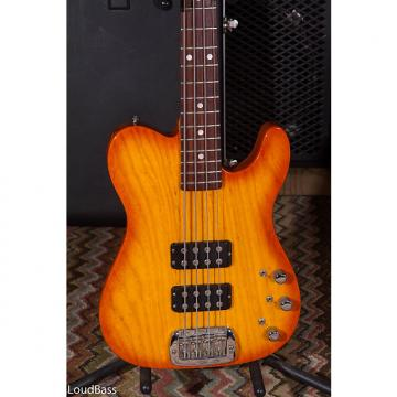 Custom G&L USA ASAT Bass HH w/ Swamp Ash Body 1995 Butterscotch Blonde w/hard case 8 lbs 15oz