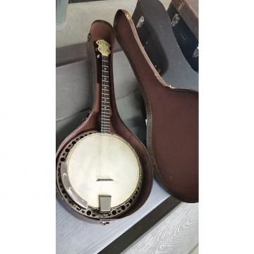 Custom Gretsch  Banner Blue tenor Banjo 1940's