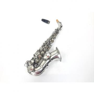 Custom Vintage CG Conn New Wonder Curved Soprano Sax Saxophone #1 1921 w/ Mouthpiece / No Case