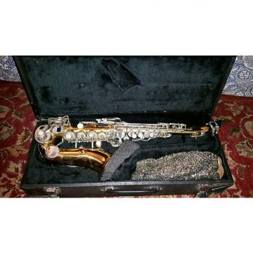 Custom Classic Saxophone Saxs Wind Instrument Vintage Kenny G Classic Saxophone 1960 Brass Gold And Silver Colors Glen Fley
