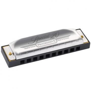 Custom Hohner Progressive Series Special 20 Harmonica Key of Bb