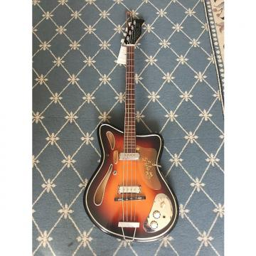 Custom Hopf Saturn 63 Bass Guitar 1960's Sunburst