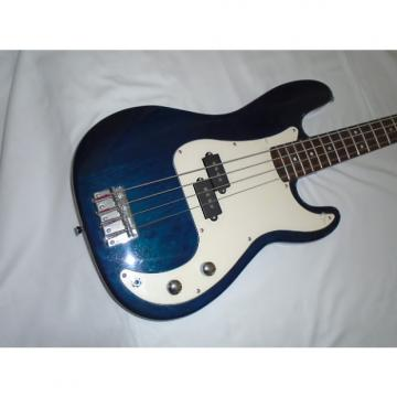 Custom Johnson by AXL P Bass style ?  Trans blue