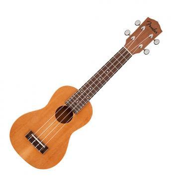 Custom Fender  piha'eu soprano ukulele 2017 mahogany
