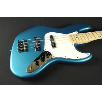 Custom Fender Standard Jazz Bass- Maple Fingerboard- Lake Placid Blue (131)