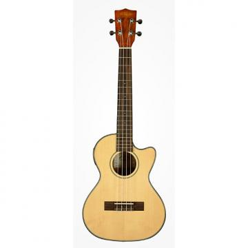 Custom Kala KA-STGE-C Solid Spruce Top & Mahogany Tenor Ukulele with EQ