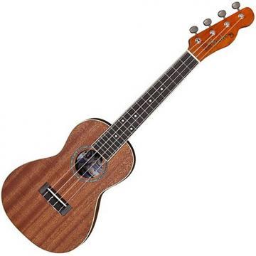 Custom Fender Mino'Aka concert ukulele 2017 mahogany free ship
