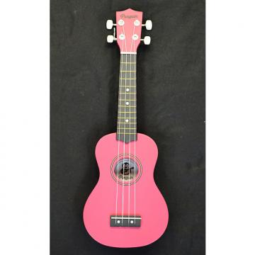 Custom Penguin UKPG Soprano Ukelele Pink Finish and Blue Finish