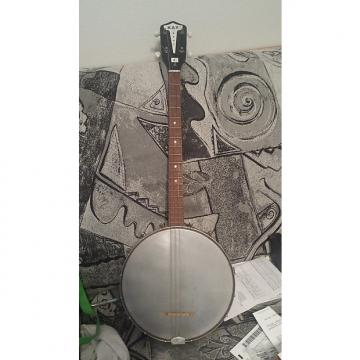 Custom Kay 63 open back tenor 4 string banjo  1963 Black