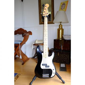 Custom Fender Precision Bass 5 string black with maple fret board Black