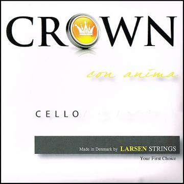 Custom CROWN CELLO STRING SET 4/4 / LARSEN (VIOLINS AUSTRALIA)