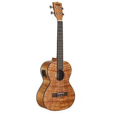 Custom Kala KA-TEME Exotic Mahogany Tenor Ukulele with EQ