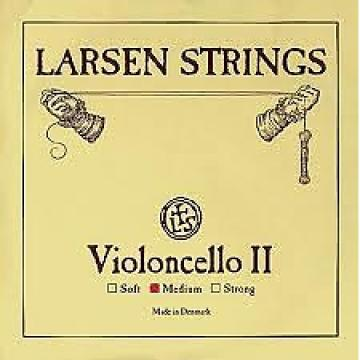 Custom Larsen 4/4 Size Cello strings Set Medium