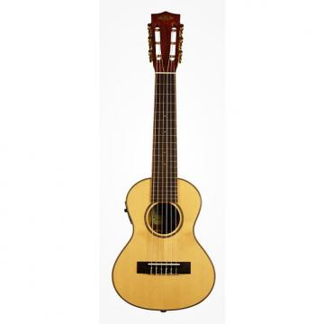 Custom Kala KA-GL-KOA-E Solid Spruce Top Koa EQ 6 String Guitarlele