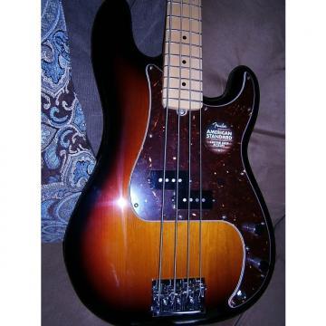 Custom Fender 2016 American Precision Bass  3-Tone Sunburst w/ Maple Fretboard