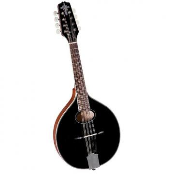 Custom Trinity College TM-250B Standard Celtic Mandolin, Black Top - Brand New! [TM250B] *Make An Offer*