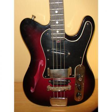Custom Jolana  Iris Bass Guitar Vintage 1960