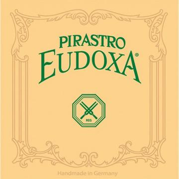 Custom 2ND D DOUBLE BASS STRING SILVER/ GUT 3/4 SIZE / EUDOXA (PIRASTRO)