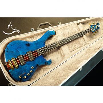 Custom Mayones Wojtek Pilichowski Signature Custom Pi III - Slap Machine Transparent Blue Gloss