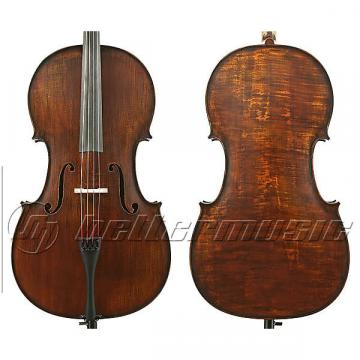 Custom Gliga III 4/4 cello outfit, oil dark antique