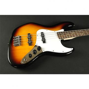 Custom Squier Affinity Jazz Bass- Rosewood Fingerboard - Brown Sunburst (104)