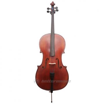 Custom Gliga II 4/4 cello outfit, aged dark antique