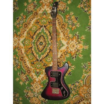Custom Jolana Disco Bass 1985 purple