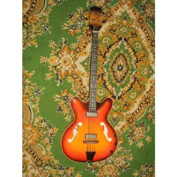 Custom Maria Bass Guitar USSR Rare Vintage Electric Soviet Russian 1975-1980