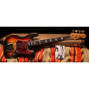 "Custom 1960 Fender Stack Knob Jazz Bass ""Sunburst"""