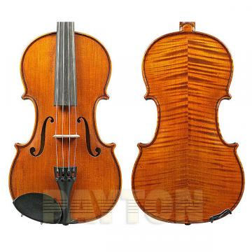 Custom 4/4 size violin dark antique w/dominant strings / gliga i (violin only)