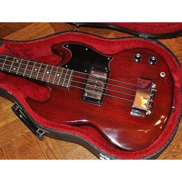 Custom 1975 Gibson EB-O EBO Bass Guitar - Cherry Finish - 100% Original - Great Shape -Original Gibson Case
