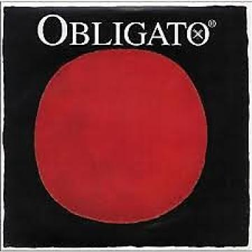 Custom Pirastro Obligato 4/4 size Violin strings set silver steel with gold E