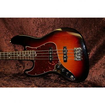 Custom Fender American Jazz Bass Left Handed Gloss Tobacco Burst