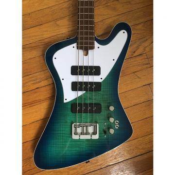 Custom LowDown Classic Series T Bird 2017 Blue green burst
