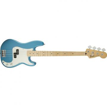 Custom Fender 0146102502 Standard Precision Bass Lake Placid Blue w/ Maple Fretboard