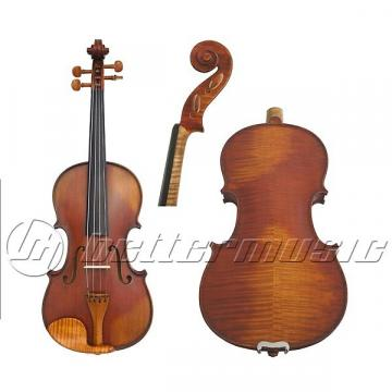Custom Gliga I violin 4/4 size Genova outfit, antique